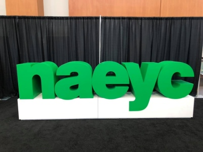 2018 NAEYC Conference: Making an Impact and Learning from Mr. Rogers