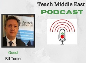 Bill Turner Featured in Teach Middle East Podcast