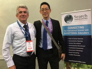 Ray with Andrew Lin of CISS