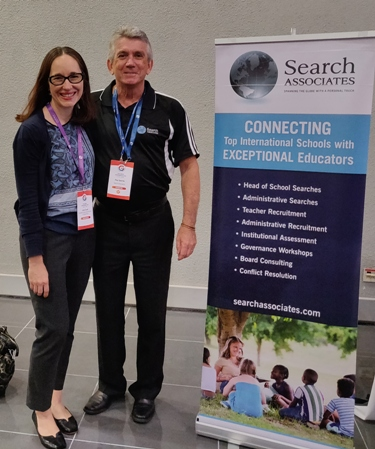 Ray with Julie Cook of CDNIS