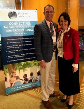 Gary with NESA Executive Director Madeleine Hewitt