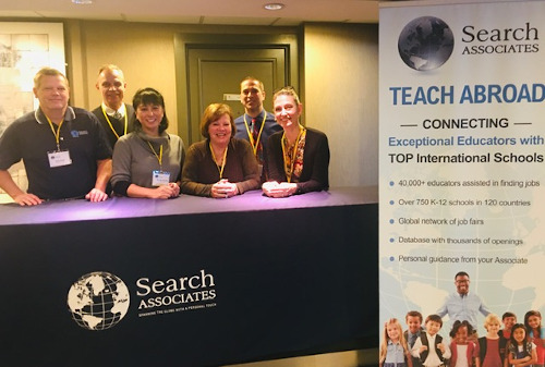 The SEARCH crew: Bob Imholt, Gary & Barbara MacPhie, Julie Ryan, Jim Albers, and Jen Imholt